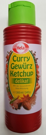 Hela Curry Ketchup/tom. sauce 300ml (12)