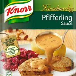 Knorr chanterelle Pfifferling sauce (21)