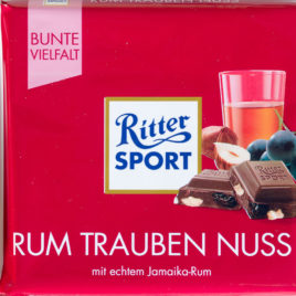 Ritter Sp. Rum Grapes/nuts 100g (12)