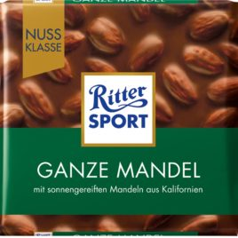 Ritter Sp. Whole Almonds 100g (11)