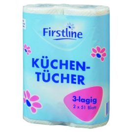 Firstline Paper Towel 3ply 2er (16)