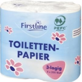 Firstline Toiletpaper 3 ply 4pcs (15)