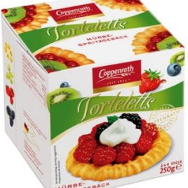 Copp. Shortbread Tartlets (2×4)250g (20)
