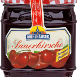 Muhlhauser Sour Cherry jam 225 g (10)