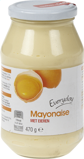 Everyday Mayonnaise With Eggs 500ml (12)