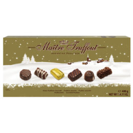 Assorted pralines winter edition 400g(12