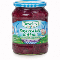Develey Bav. Red cabbage/apple 720ml(12)