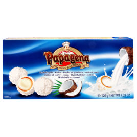 Pap. Wafer balls coconut 120g (18)