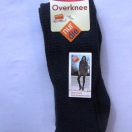 ND ladies overknee socks dark blue 39-42
