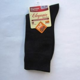ND ladies elegant socks black 35-38
