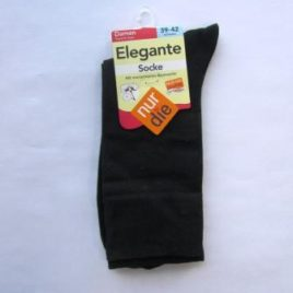 ND ladies elegant socks black 39-42