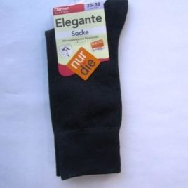 ND ladies elegant socks dark blue 35-38