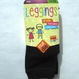 ND Kids leggings black 116-122