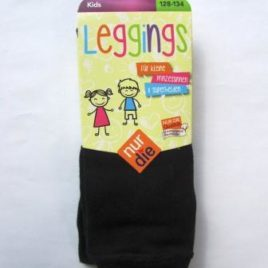 ND Kids leggings black 128-134