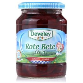 Develey sliced beetroot 370ml (12)