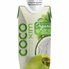 CocoXim organic coconut water 330ml (12)