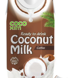 CocoXim coffee coconut milk 330ml (12)