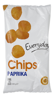 Everyday Crisps Paprika 200G (20)