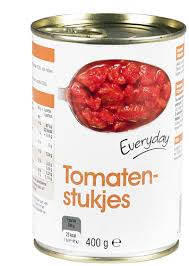 Everyday tinned diced tomatoes 400g (24)