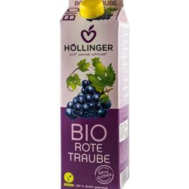 Hollinger organic red grape juice 1l(12)