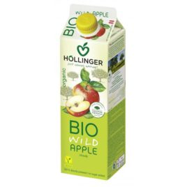 Hollinger organic wild apple juice 1l(12
