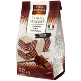 Feiny Cubus Wafers Cocoa 125g (12)