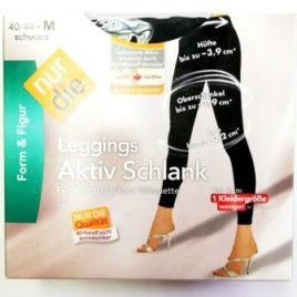 ND ladies leggings active slim black M