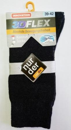 ND Gent Socks 3DFLEX Brown 39-42