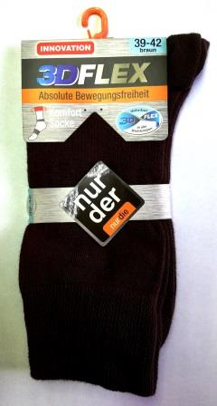 ND Gent Socks 3DFLEX Black 39-42
