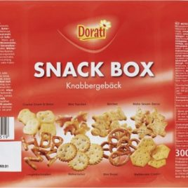 Dorati Knabberbox/munch mix 300g (16)