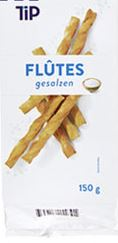 Tip Salted Flutes/Salt Stick 150g (12)