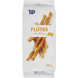 Tip Cheese Flutes/Cheese Stick 150g (12)