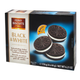 Feiny Black & White biscuits 176g (18)