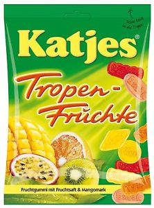 Katjes tropical fruit gums 200g (20)