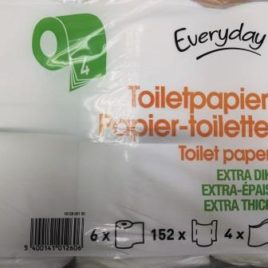 Everyday toilet paper 4-ply 6 Rolls