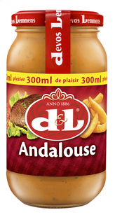 D&L sauce Andalouse 300ml (6)