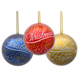 Christmas bauble with pralines 30g